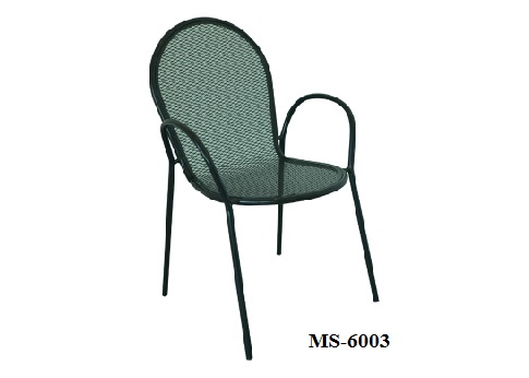 Metal Net Chair Ms 6003 Zebano