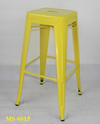 Metal Bar Stool Ms 6015 Zebano