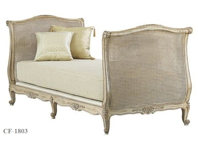 Classic French Day Bed Cf 1803 Zebano
