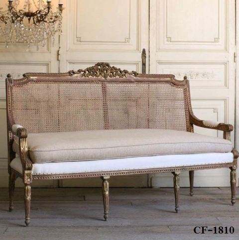 Royal classic bed cf 1805 zebano for Sofa royal classic