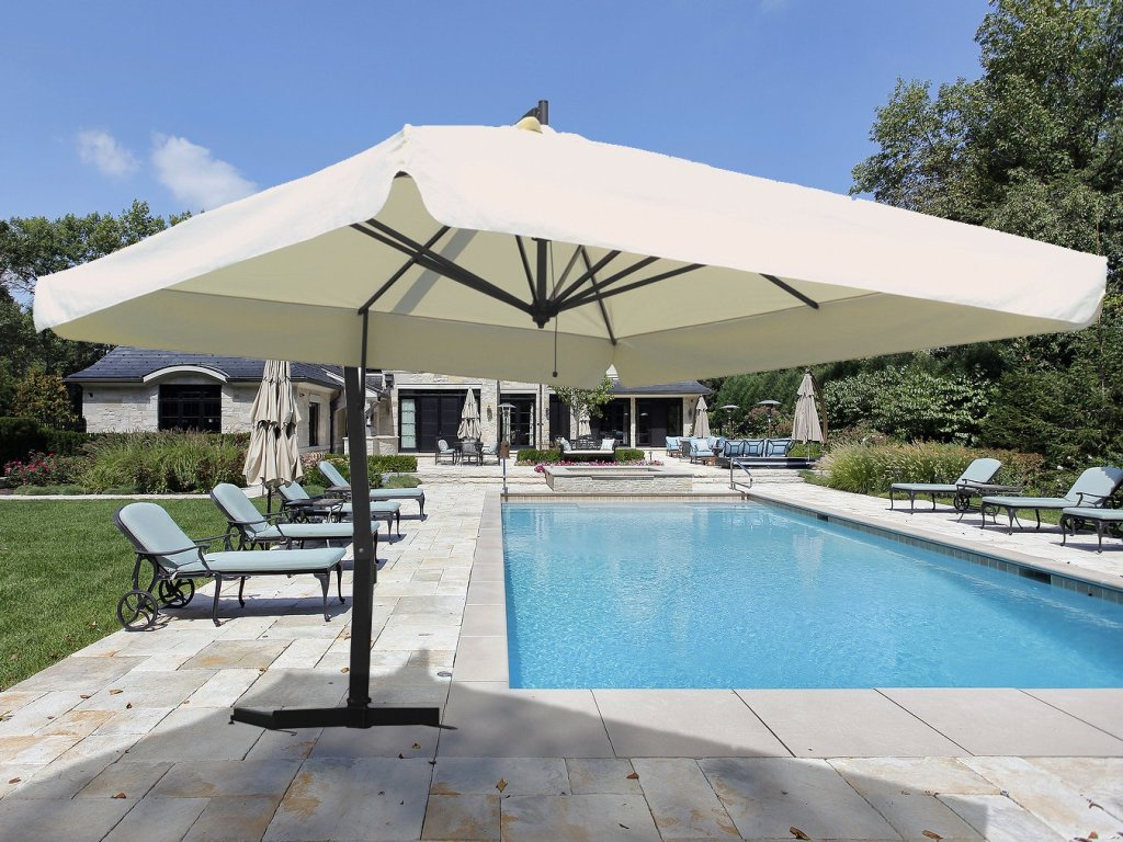 Square Cantilever Patio Umbrellas