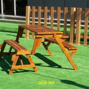 Teak Wood Magic Bench BOS-803