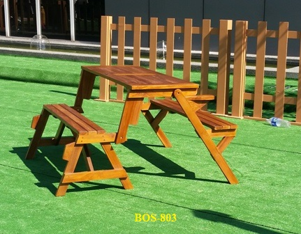 Teak Wood Magic Bench BOS-803