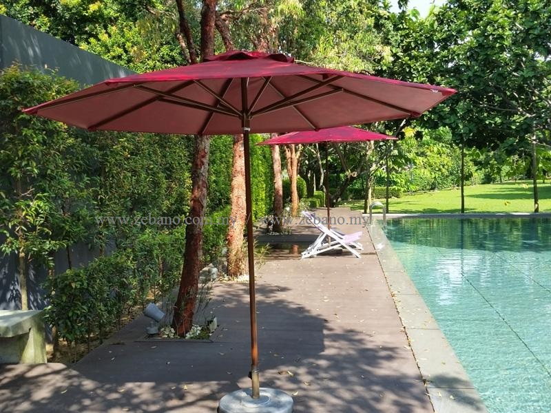 Center Pole patio umbrella US-1003ALU