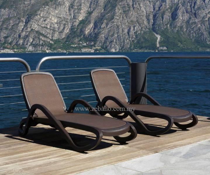 Alfa polypropylene sun loungers LS-4088