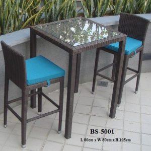 Wicker Bar Set BS-5001