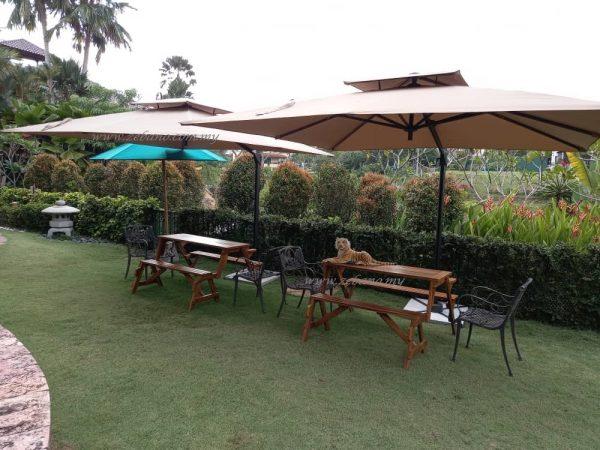 garden party umbrella Zebano
