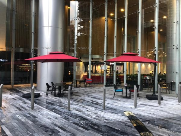 cantilever cafe umbrella us-0111b-Zebano