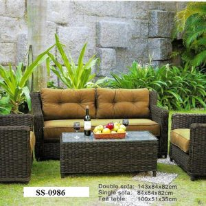 Classic Rattan Sofa SS-0986