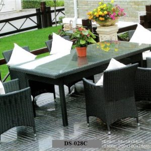 Contemporary Outdoor Dining Set DS-028C