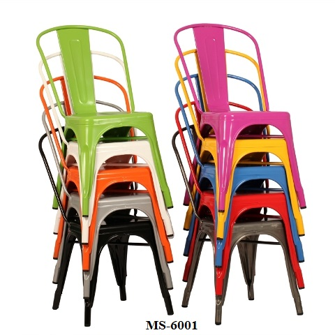 Metal Dining Chair MS-6001