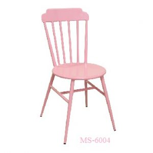 Pink Metal Chair MS-6004