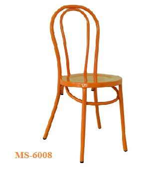 Orange Cafe Chair MS-6008