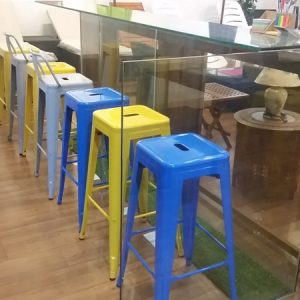 Metal Bar Stool MS-6015