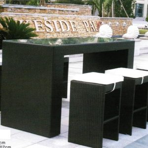 Outdoor Rattan Bar Set BS-982