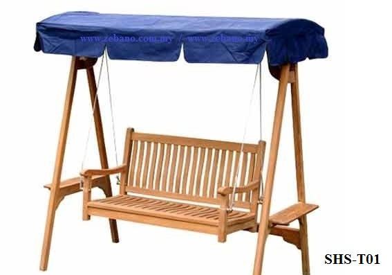 Outdoor Teak Wood Swing SHS-T01