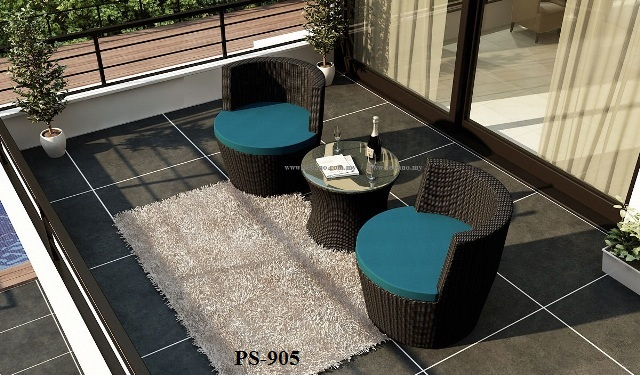 Wicker Deck Patio Set PS-905