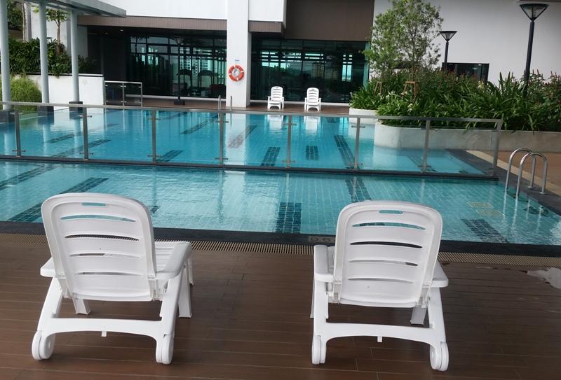 Polypropylene Commercial Pool Lounger LS 4099(B) (2)