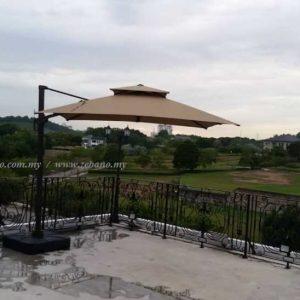 Pool Cantilever Umbrella US 0111B ZEBANO (1)