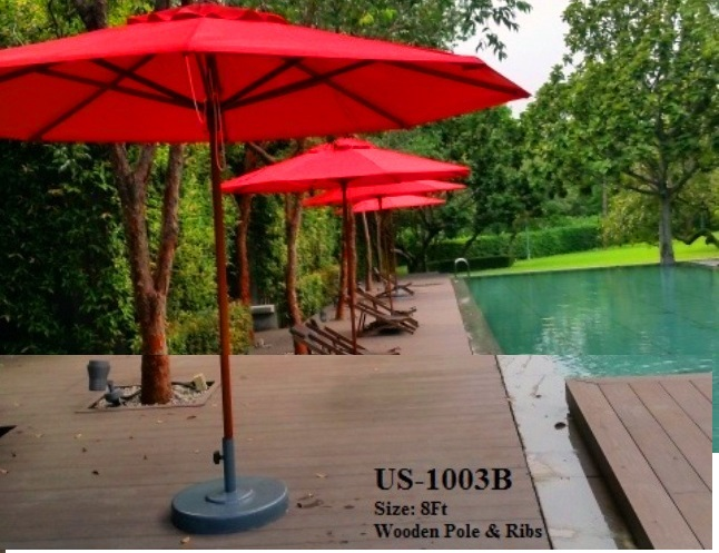 Pool umbrella center pole US-1003B