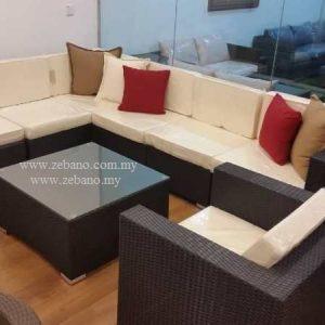 Rattan Corner Sofa Set Ss 142