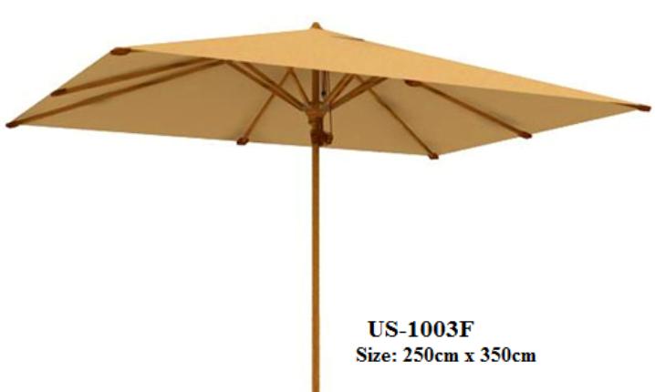 Rectangular Beach Umbrella US-1003F