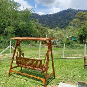 Teak Wood Garden Swing SHS-T02
