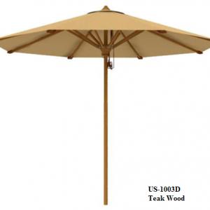 Teak Wood Garden Umbrella US-1003D