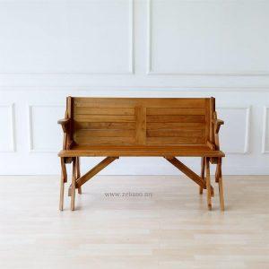 Teak Wood Magic Bench Zebano (1)