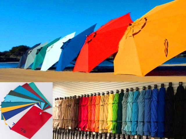 beach umbrella multicolor