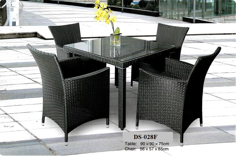 Wicker Outdoor Dining Chair DS-028F