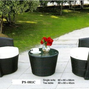 Wicker Patio Set PS-081C