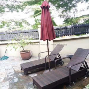 Wicker Rattan Swimming Pool Lounger LS 0171 (1)