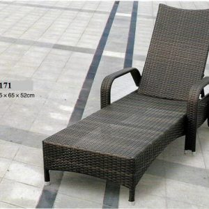Wicker Rattan Swimming Pool Lounger LS-0171