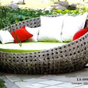 Wicker Royal Outdoor Day Bed LS-099B