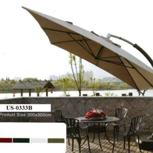 Zebano Garden Umbrella US-0333B