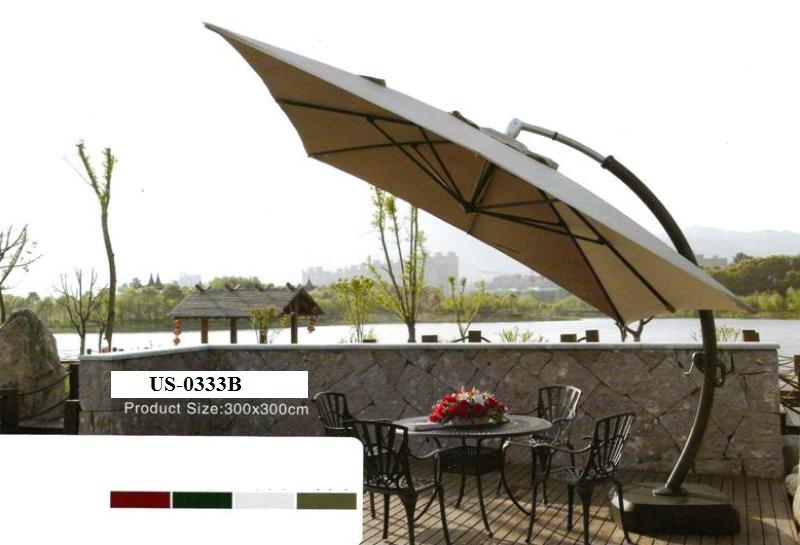 Zebano Garden Umbrella US-0333B