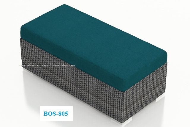Wicker Double Ottoman BOS-805