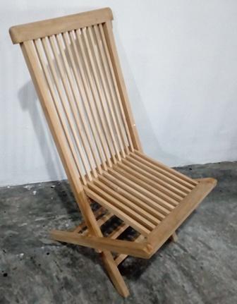 teak wood folding chair