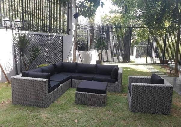 zebano royal wicker outdoor sofa