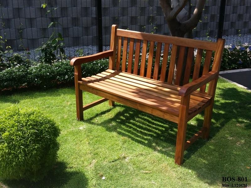 Teak Wood Garden Bench BOS-801