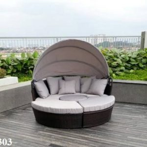Wicker Outdoor Day Bed Ls 303