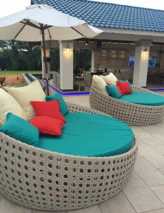 Wicker Royal Outdoor Day Bed At Royal Palace Johor Bharu