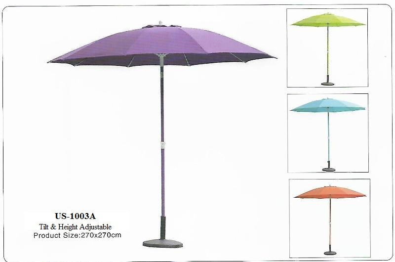 Center pole mushroom design umbrella
