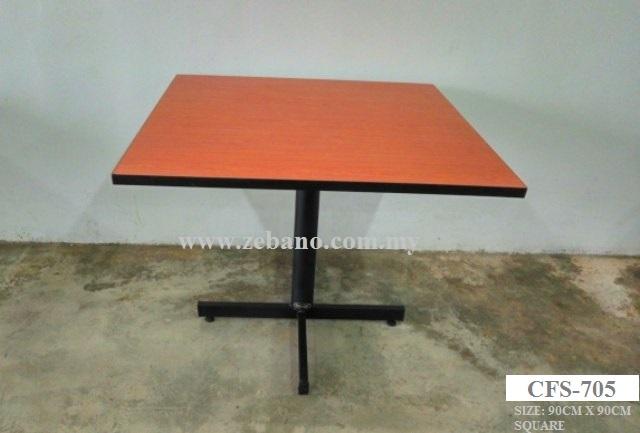 Bistro Dining Table Supplier CFS ZEBANO - Restaurant table supplier
