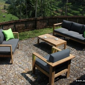 Contemporary Teak Deck Sofa Set SS-108