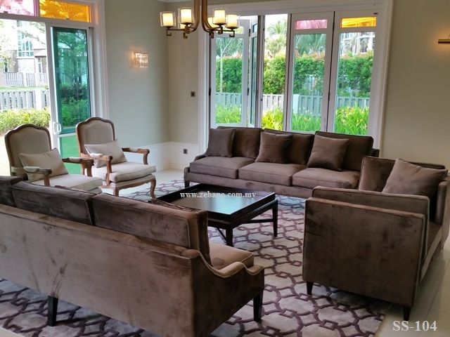 Living Room Sofa SS-104