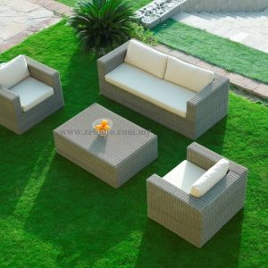 Rattan Wicker Indoor Outdoor Sofa SS-107