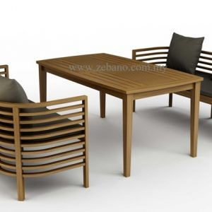 Resort Lounge Design Teak Dining DS-209
