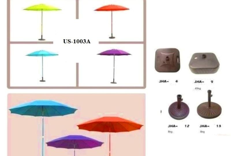 UBeach Center Pole Mushroom Design UmbrellaS 1003G 270CM WITH BASE